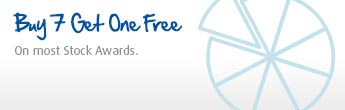 Buy 7 Get One Free - Across our entire Stock Awards range
