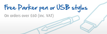 Free pen and USB -