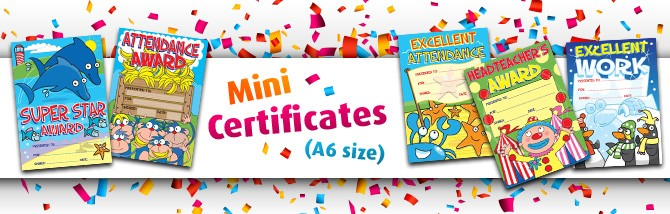 Mini certificates hero -