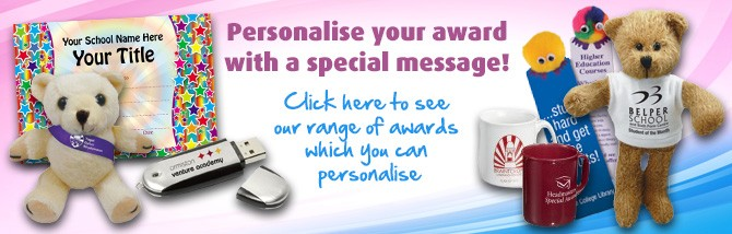 Personalised awards -