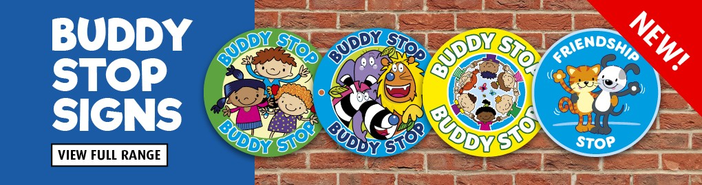 Buddy Stop Signs -