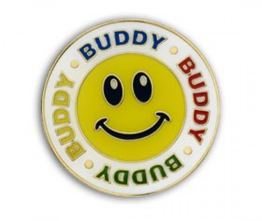Buddy Badge Pack Of 5 School Merit Stickers