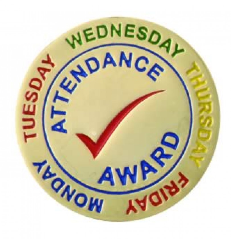 Image result for attendance award
