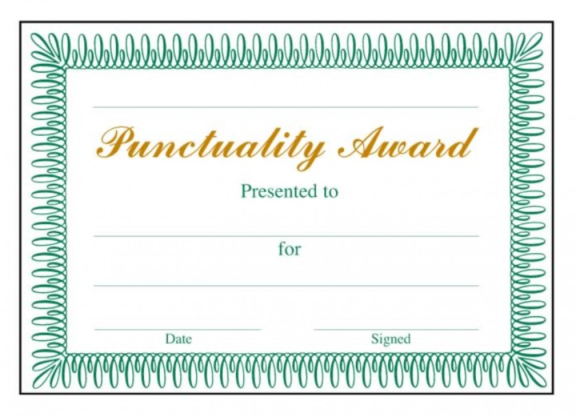Punctuality award classic certificate school merit stickers school merit stickers yelopaper Images