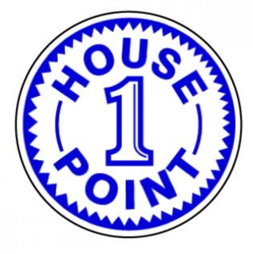 1 house point stamper